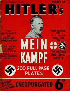 Mein Kampf autrefois vendu en Angleterre au profit... de la Croix-Rouge britannique !
