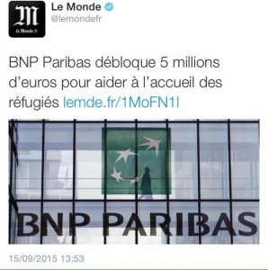BNP Paribas immigration