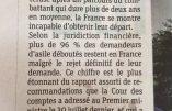 Plus de 96 % des demandeurs d'asile déboutés ne quittent pas la France