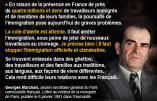 «La cote d'alerte est atteinte (…) il faut stopper l'immigration officielle et clandestine» – Citation de Georges Marchais, ancien secrétaire général du PCF