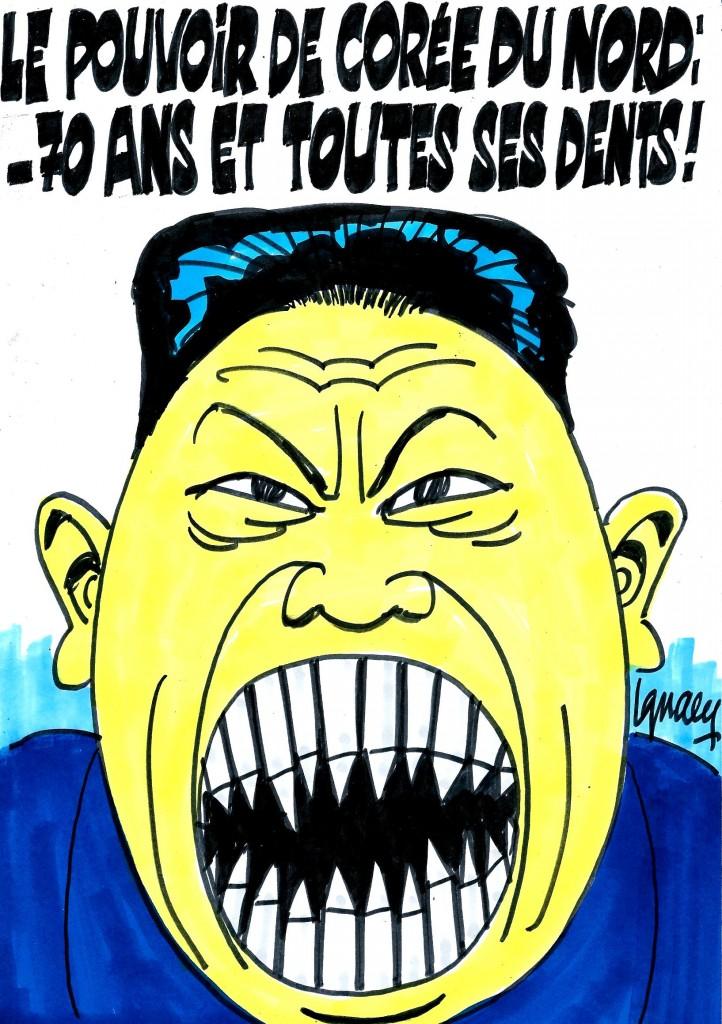 Ignace - La Corée du Nord communiste fête ses 70 ans
