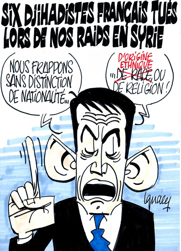 Ignace - Six djihadistes français tués lors de nos raids en Syrie