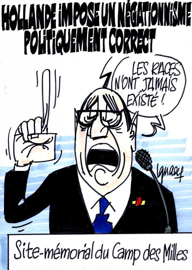 Ignace - Hollande annonce un texte contre le racisme