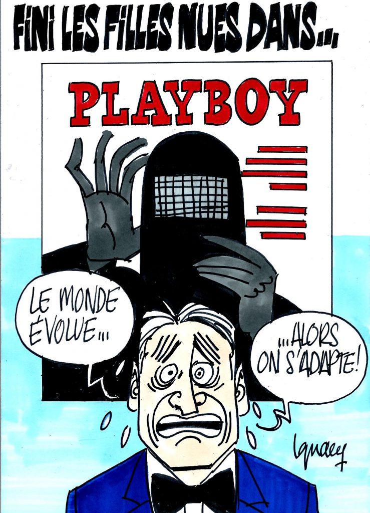 Ignace - Fini les filles nues dans Playboy