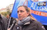 Des policiers répondent aux questions d'Egalité et Réconciliation