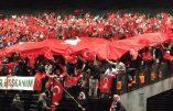 Strasbourg aux couleurs de la Turquie pour le meeting d'Erdogan