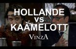Hollande vs Kaamelott (humour)