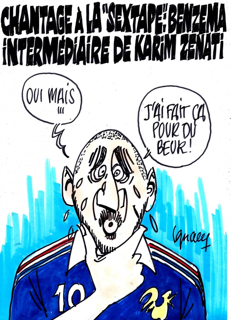 "Ignace - Benzema intermédiaire dans la ""sextape"""