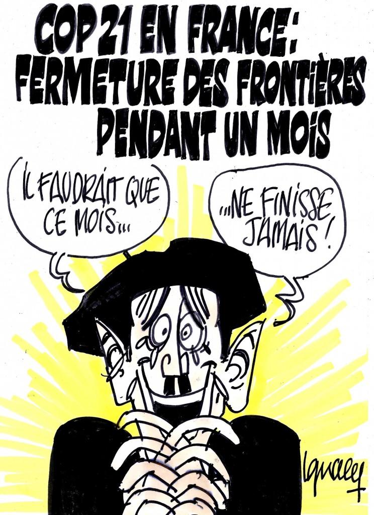 Ignace - COP21 et fermeture des frontières