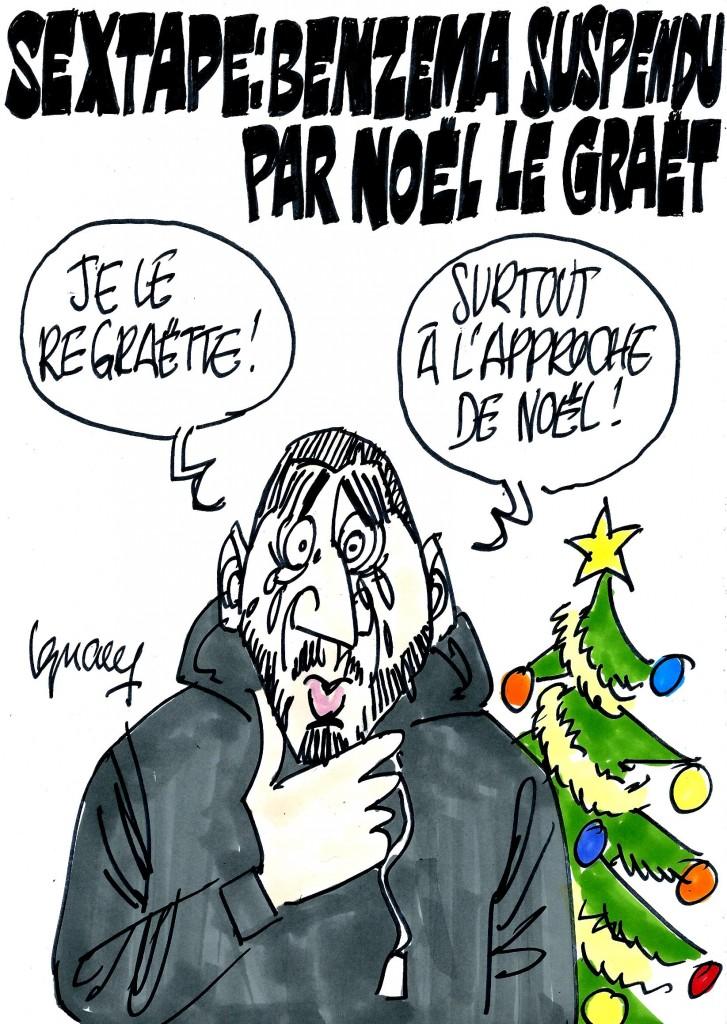 Ignace - Benzema suspendu par Le Graët