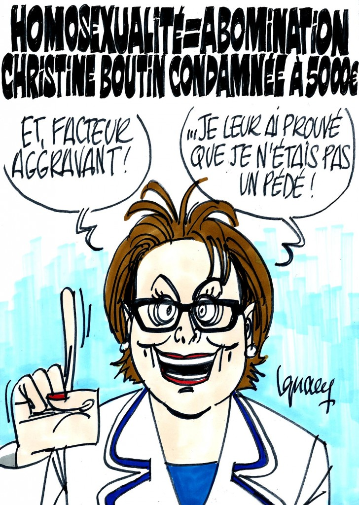 Ignace - Christine Boutin condamnée pour homophobie