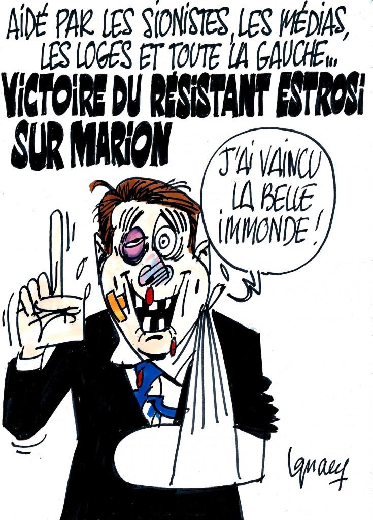 """Ignace - Victoire du """"résistant"""" Estrosi"""