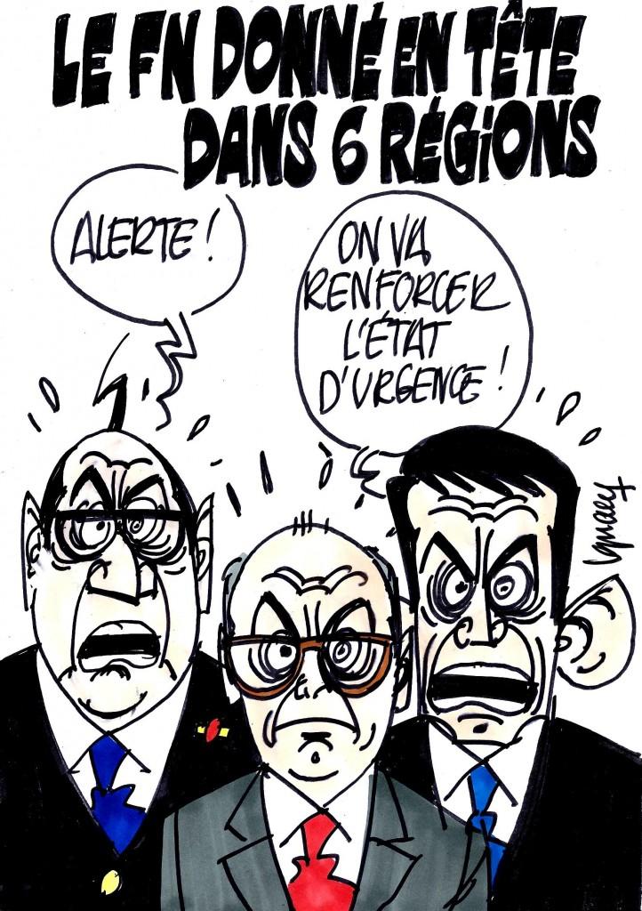 Ignace - Le FN donné en tête de 6 régions