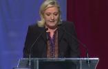 Allocution de Marine Le Pen après les résultats des régionales 2015