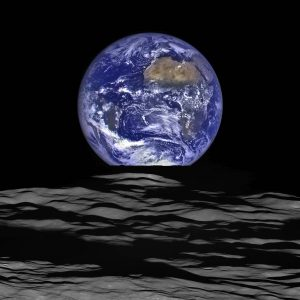 terre vue de la lune nasa