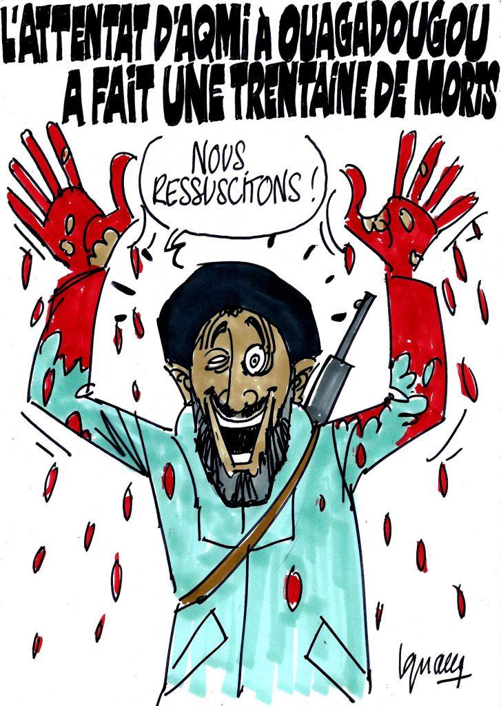 Ignace - Attentat d'Aqmi à Ouagadougou