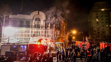 incendie ambassade saoudienne
