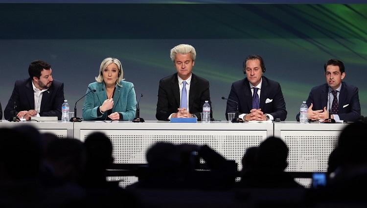 Le groupe europarlementaire de Bruxelles, Europe des nations pour la liberté (ENF), s'est réuni à Milan, jeudi 28 et vendredi 29 janvier 2016