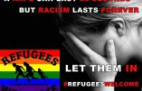 «Le viol dure 30 secondes et le racisme pour la vie» selon une nouvelle campagne immigrationniste