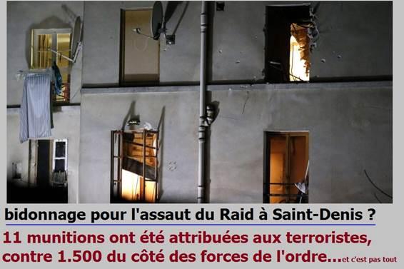 bidonnage raid saint-denis