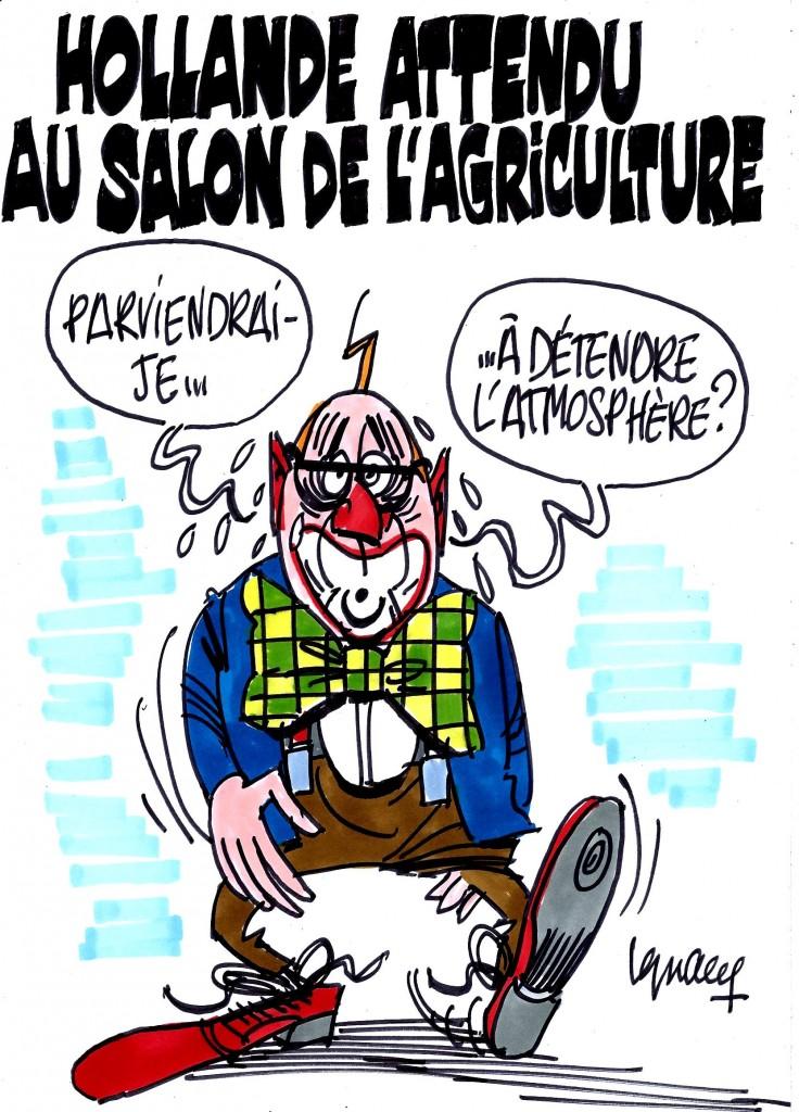 Ignace - Hollande attendu au salon de l'Agriculture