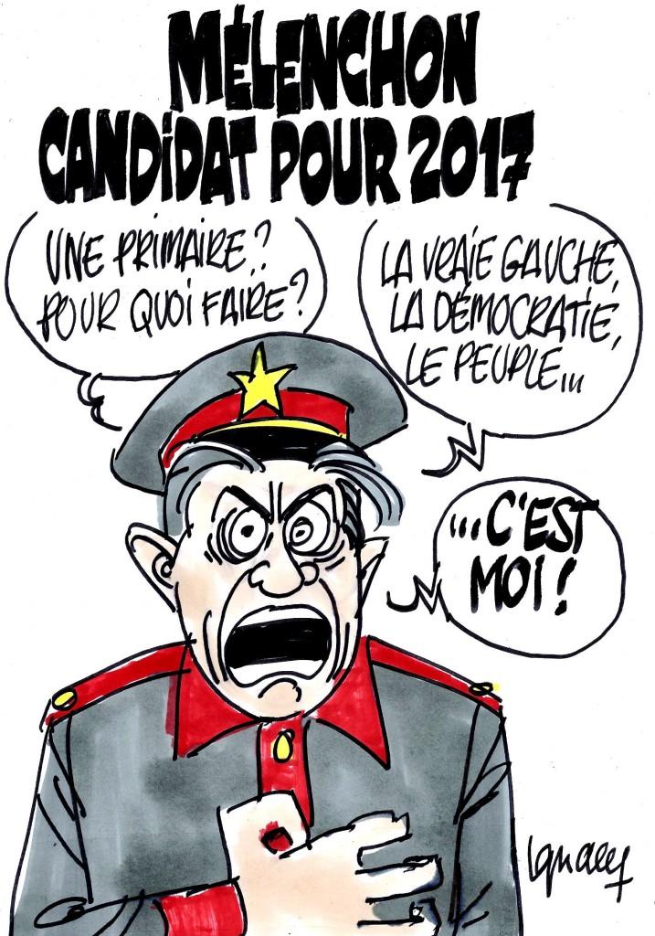 Ignace - Mélenchon candidat pour 2017