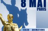 8 mai 2016, Défilé Ste Jeanne d'Arc avec Civitas, les Brigandes et de nombreux insoumis