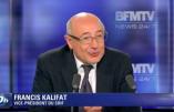 Le prochain président du CRIF sera Francis Kalifat, de la Fédération Sioniste de France