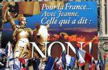 Le FN se sépare de Jeanne d'Arc que Florian Philippot n'a jamais aimée