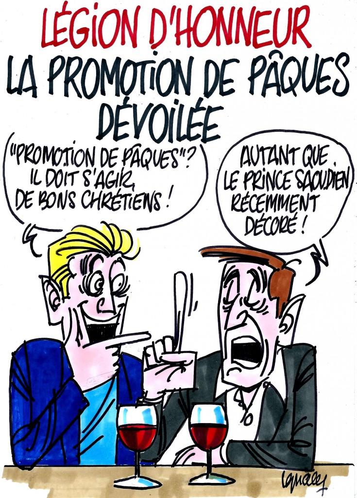 Ignace - Légion d'honneur, promotion Pâques