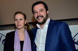 Marion Le Pen et Matteo Salvini