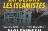 La manifestation de Génération Identitaire à Molenbeek est interdite