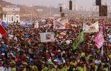 Gigantesque Marche pour la Vie au Pérou