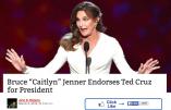 Le transsexuel Bruce «Caitlyn» Jenner fait campagne pour Ted Cruz