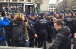 Bruxelles sous tension en raison de l'interdiction de la manifestation identitaire