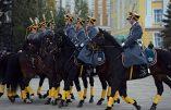 Parade de la garde présidentielle du Kremlin (vidéo)