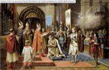 Hymne à l'Étendard en l'honneur de Jeanne d'Arc dont c'est la fête