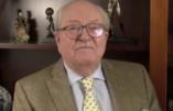 Jean-Marie Le Pen raille la Loi « el-Connerie »