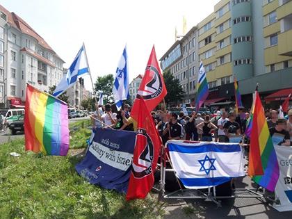 Antifascisme, sionisme et LGBT, même combat...
