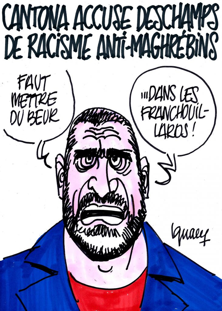 Ignace - Cantona accuse Deschamps de racisme