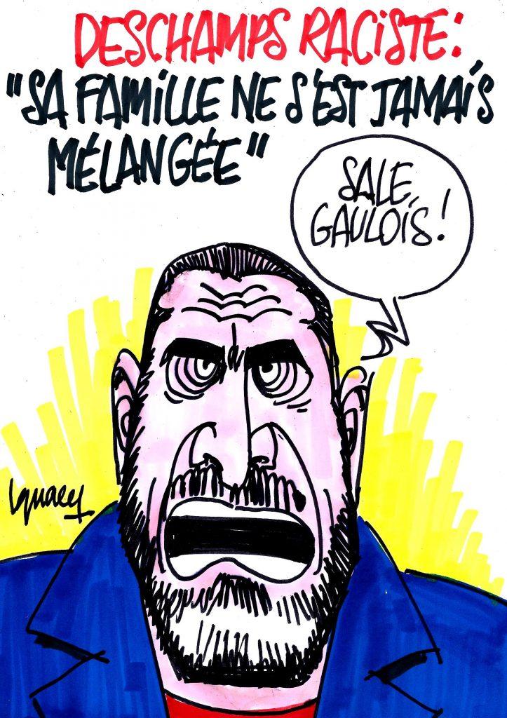 Ignace - Le racisme de Deschamps démontré par Cantona
