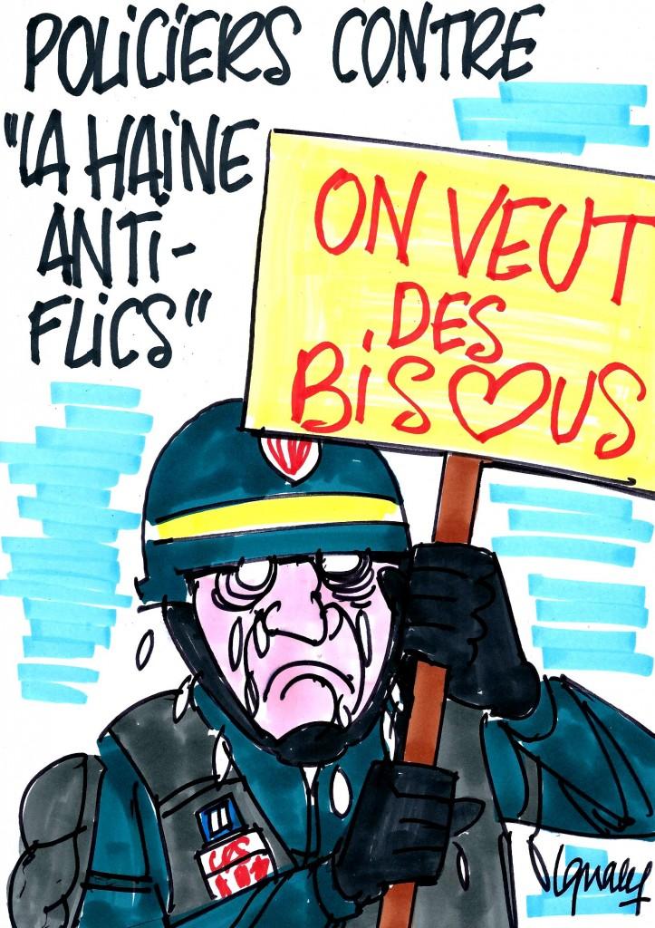 Ignace - Le ras-le-bol des policiers