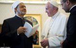 Le dialogue inter-religieux avec la plus haute autorité de l'islam sunnite : en avant toute pour construire la paix !