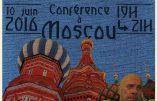 Alain Soral en ce moment à Moscou