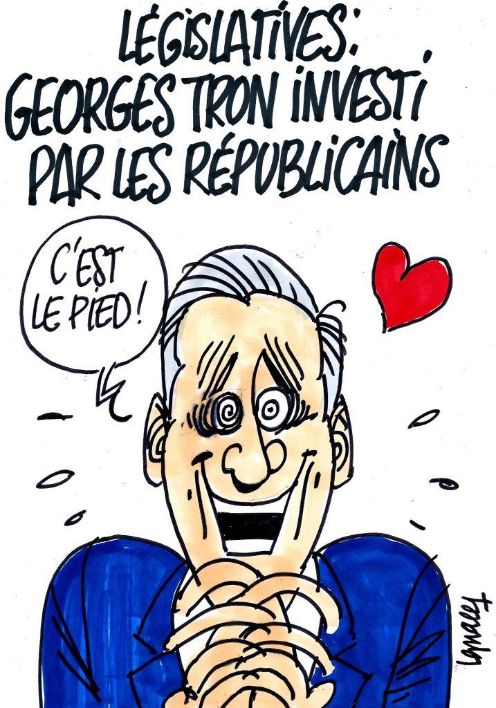 Ignace - Georges Tron investi par les Républicains