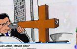 La télévision espagnole utilise une caricature antichrétienne pour illustrer la fusillade d'Orlando commise par un islamiste