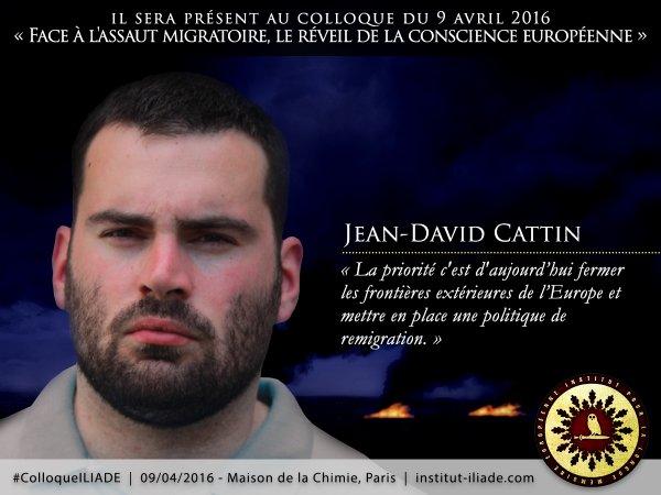 Jean-David Cattin, directeur des «Identitaires» : «Le vivre-ensemble n'existe pas!»