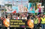 La Marche pour la Vie de Berne annulée… pour motif de sécurité