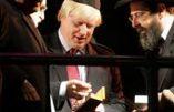 Israël se réjouit que Boris Johnson, descendant de rabbins, devienne ministre des Affaires étrangères du Royaume-Uni