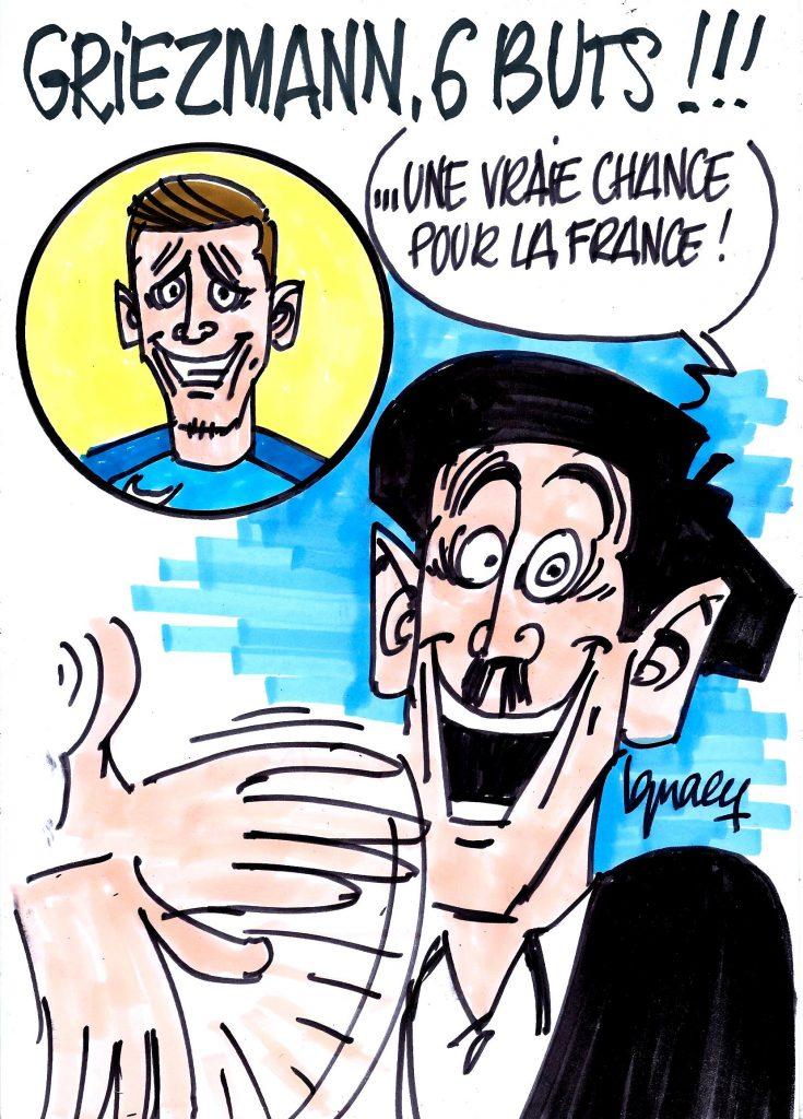Ignace - Griezmann, 6 buts !